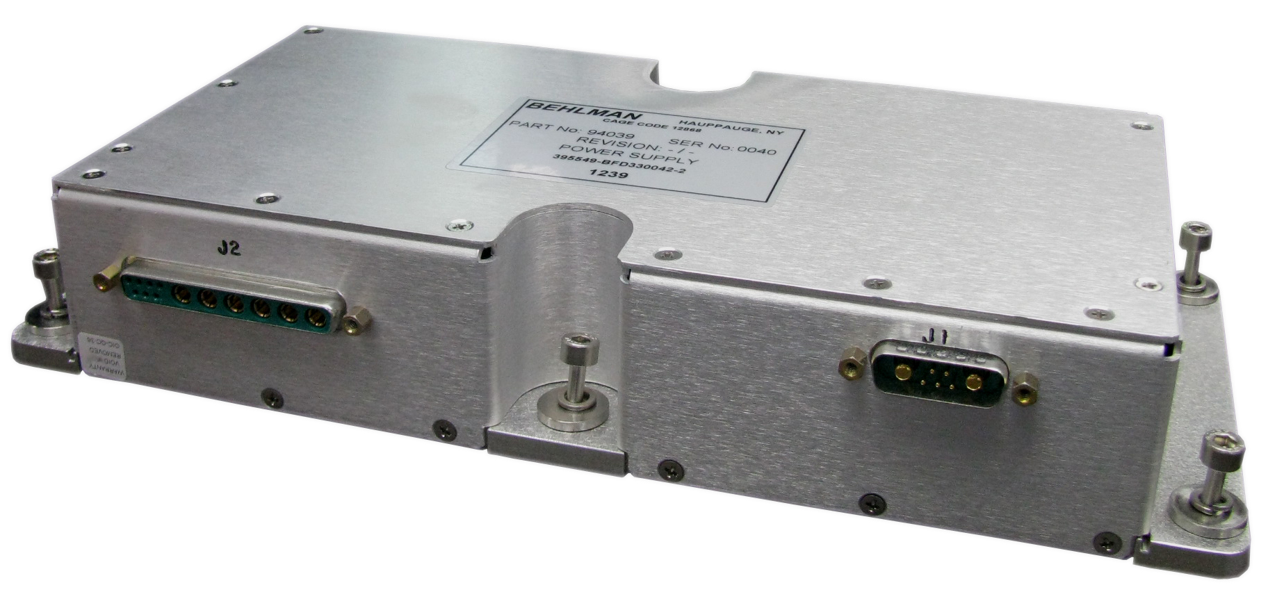 1000Watts power factor corrected input,COTS mil power supply with triple DC outputs