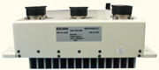 1000Watts power factor corrected input,COTS mil power supply with dual DC outputs